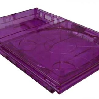 PS2 Slim GhostCase Kit - Clear Purple